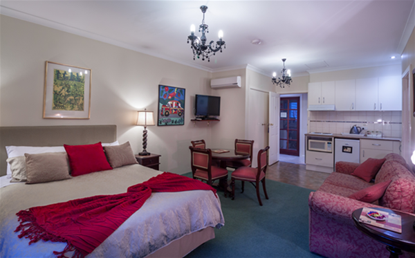 The Wallcliffe Suite has a second bedroom