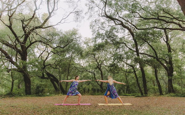 Yoga and Meditation in our beautiful natural surrounds