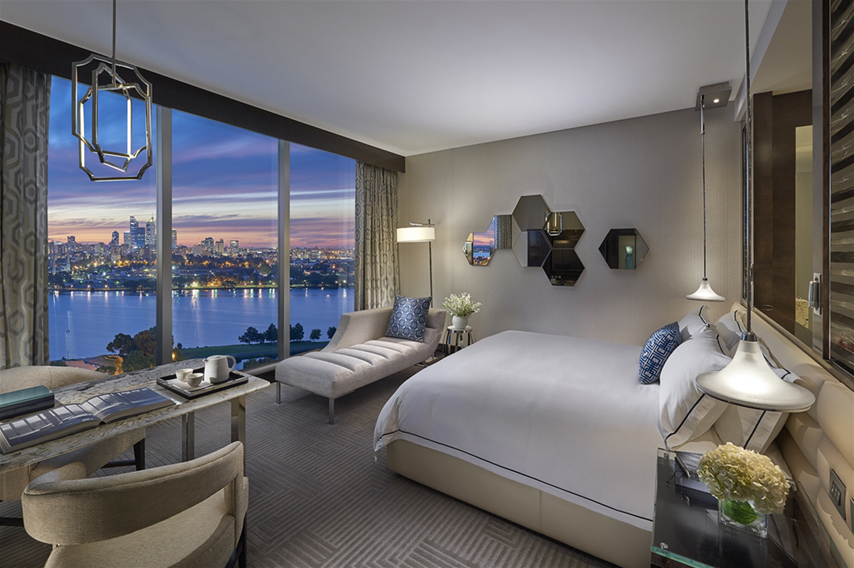 Crown Towers Perth - Deluxe Room (artist impression)