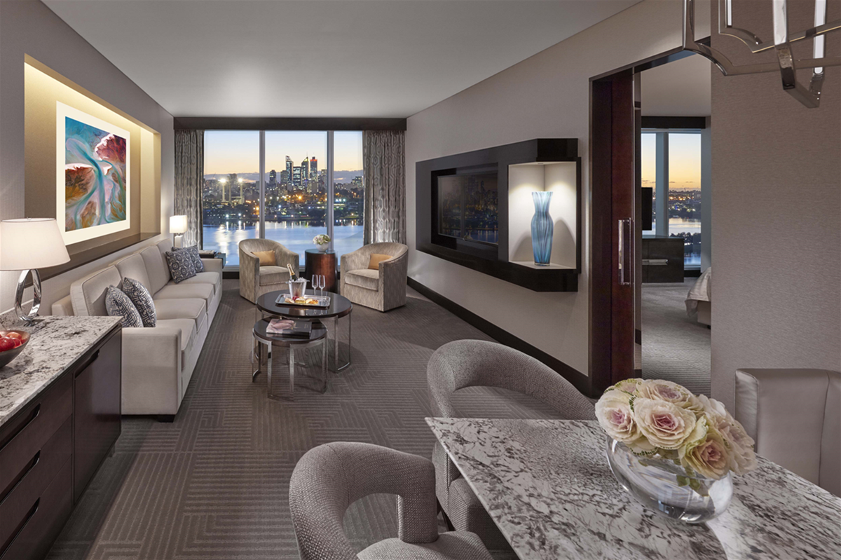 Crown Towers Perth - Premier Club Suite (artist impression)