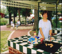 Cook up a storm on our shady BBQ and gazebo