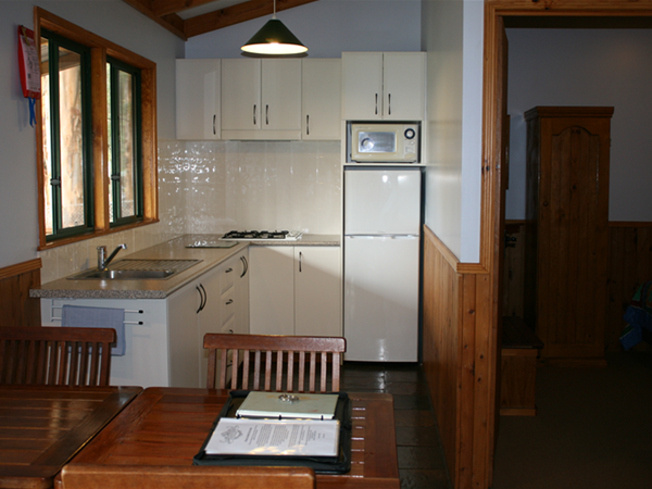 Dining/Kitchen/2nd Bedroom in Lavender and Orchard Cottages