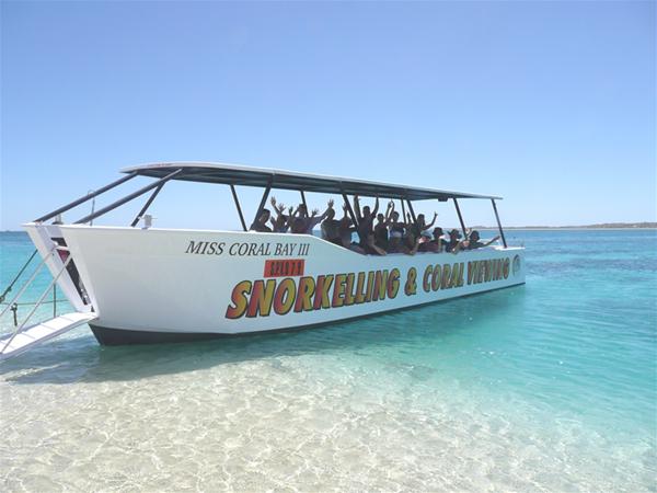 Miss Coral Bay III (Glass Bottom Boat)