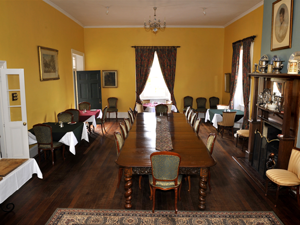 Dining Hall - just right for a formal or informal dinner celebration