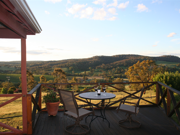 Relax on the deck and enjoy the views