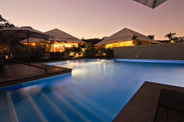 Centrally located within the resort the stunning pool is the perfect place to enjoy a good book or a glass of wine!