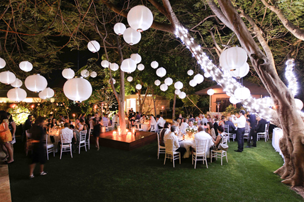 The Billi is the ideal private resort to use for special occassions and weddings - our specialty!