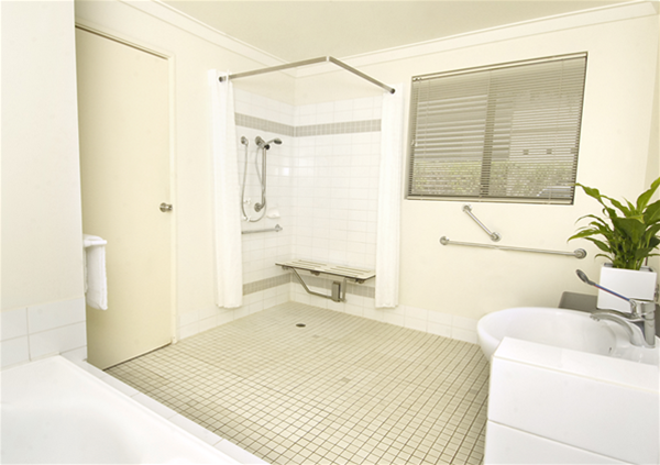 Studio Spa Apartment Special Access Bathroom Facililties