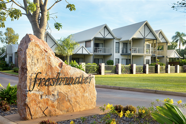 Freshwater Apartments entrance