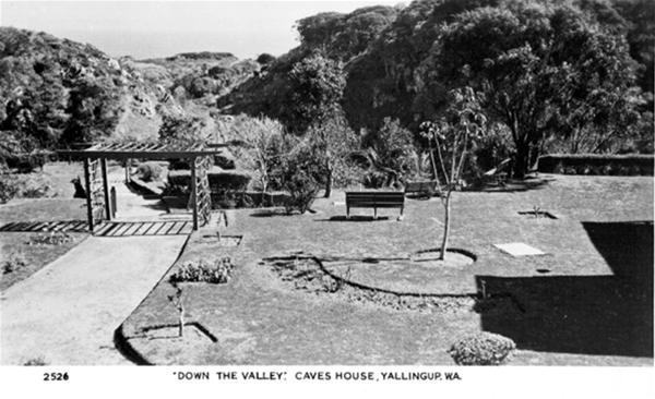 Caves House Gardens 1950
