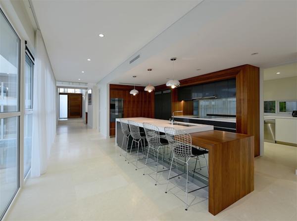 Custom Kitchen - timber detailing