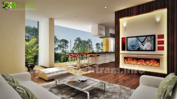3D Interior Rendering Melbourne
