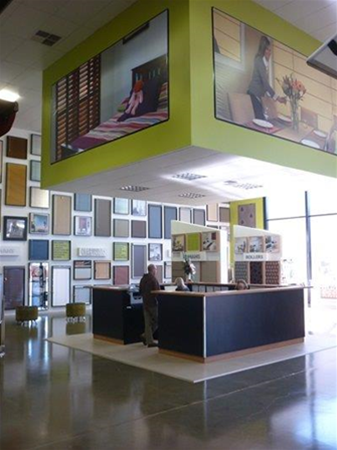 Commercial Showroom interior