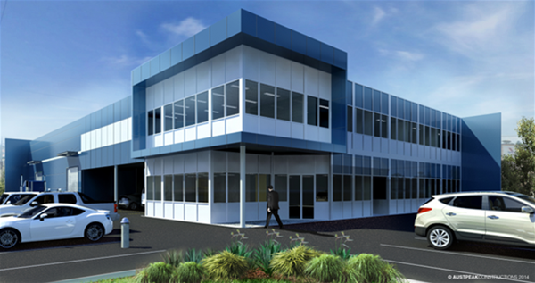 West Sea Office Warehouse - Concept 3D Visuals