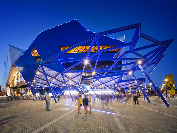 Perth Arena by Cameron Chisholm Nicol and ARM.