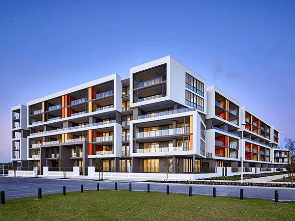 Ocean Edge Beachside Apartments in Port Coogee for TRG Properties.