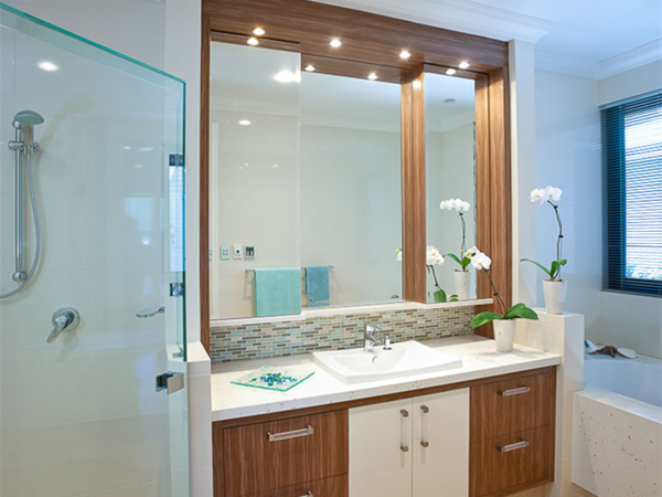 A bathroom design by Fogliani Interiors.