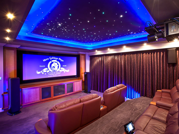 Theatre room by Fogliani Interiors