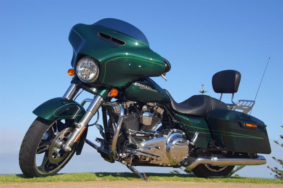 Harley Hire Perth - Street Glide