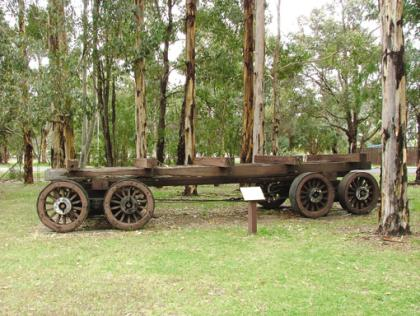 An Original Eight-Wheeler Trailer