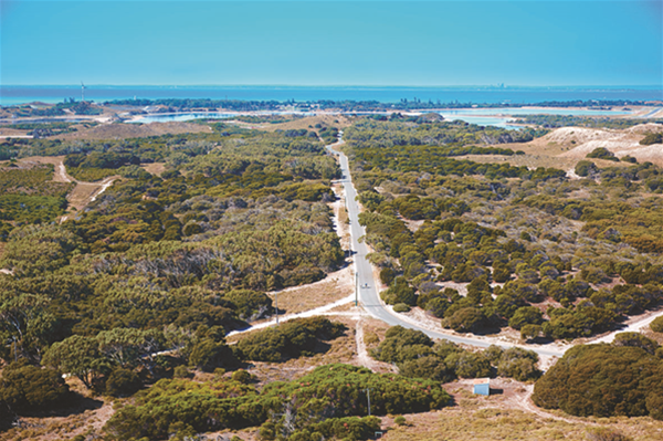 Views from the Wadjemup Lighthouse