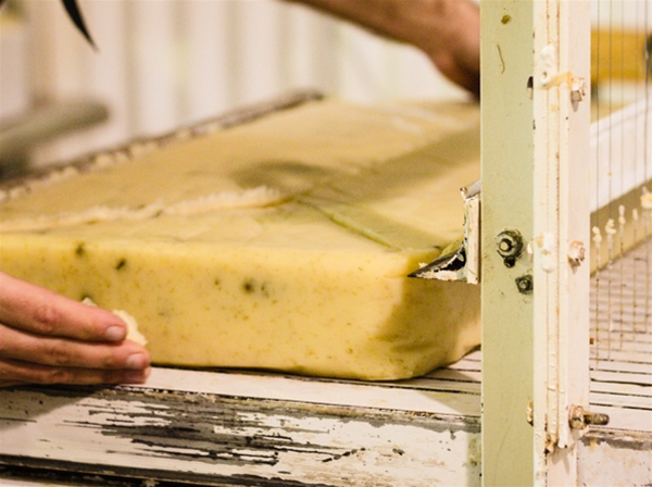 Witness our soap makers as they craft our products using age-old traditional techniques