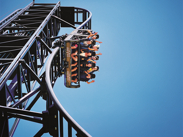 Abyss Roller Coaster