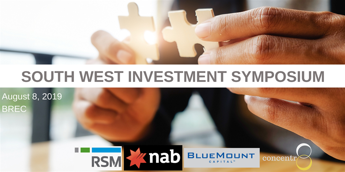 South West WA Investment Symposium 2019 - Business Events in
