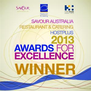 Winner of the Restaurant & Catering Consumer Vote Award 2012 and 2013
