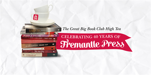 Celebrate our 40th anniversary at the Great Big Book Club High Tea