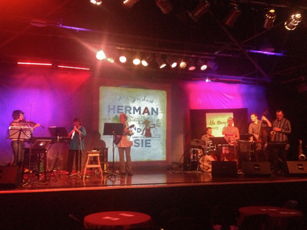 Soundcheck for Herman and Rosie - The Fly By Night, 2013