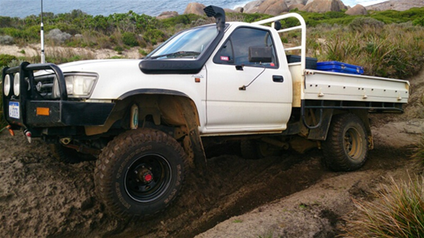 From a detailed write up on one of many 4WD tracks on the West Australian south coast