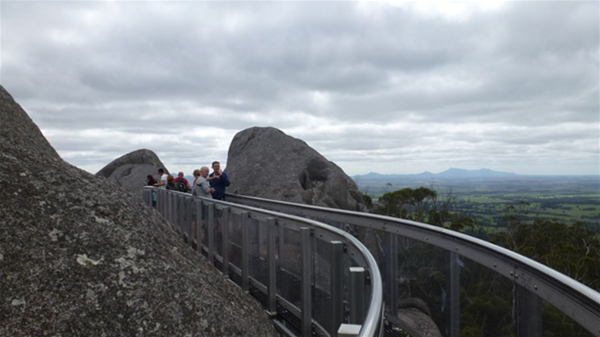"The ""Castle Rock Sky Walk"" a brilliant piece of engineering and a must go location!"