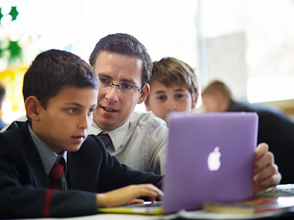 Laptop use in Junior School