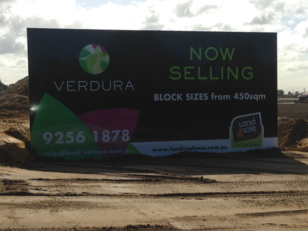 Verdura Estate Sign image - Sold by Land4Sale