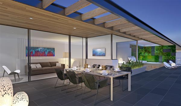 Aria Swanbourne - Penthouse Terrace