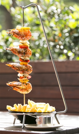 The Harbour Master Prawn Skewer
