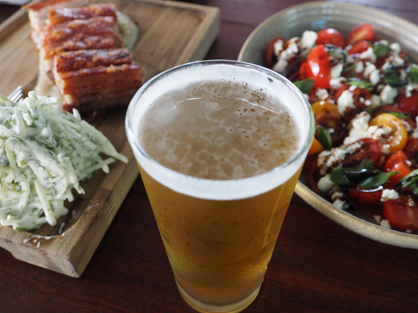 Shared or casual dining with WLB chilled brews