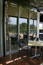 dining on the deck- Riverbrook @ Upper Reach