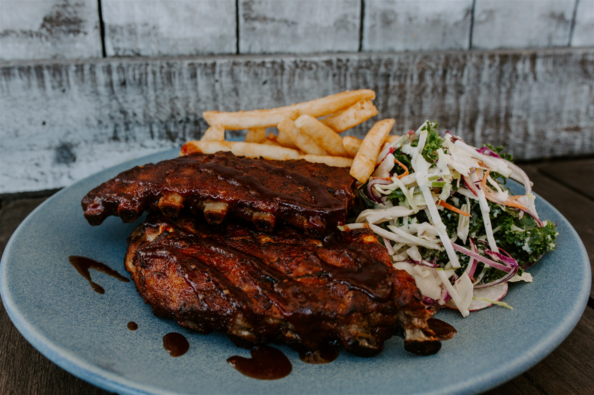 Lunch and Dinner: Pork Ribs