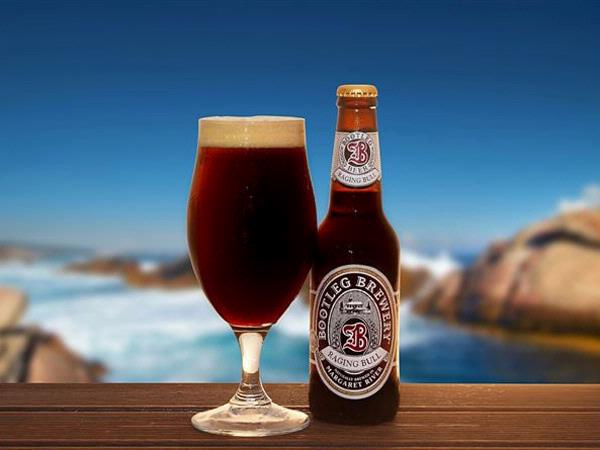 """Bootleg Brewery """"Raging Bull"""" Beer"""