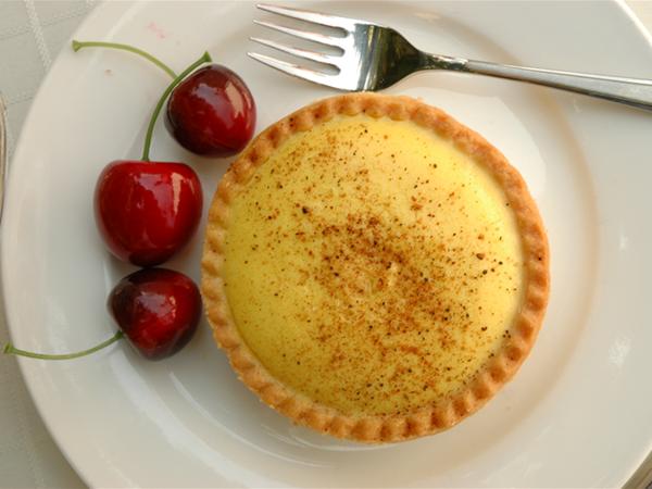 Custard Tart - Miami Bakehouse