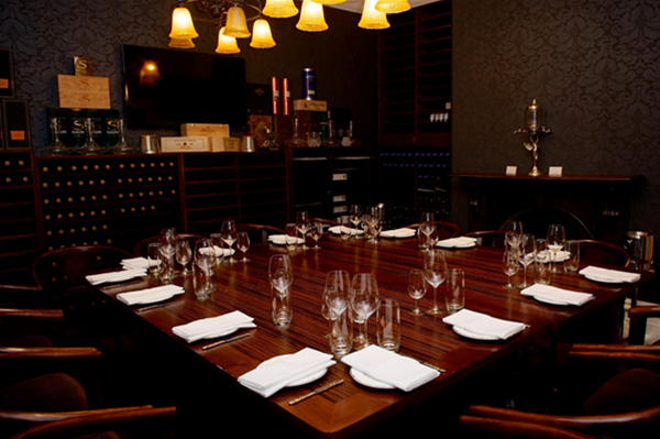 Private Dining-Sommeliers Tasting Room