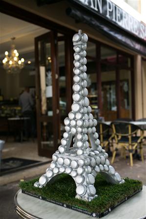 Tour Eiffel en Macaron