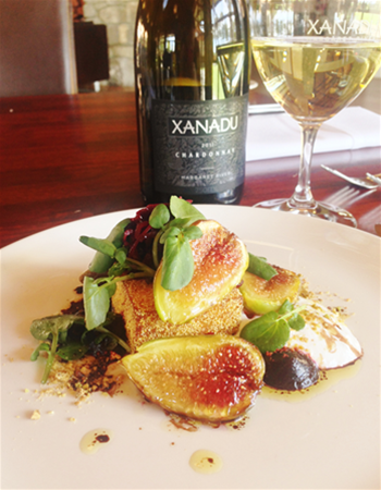 figs and chardonnay