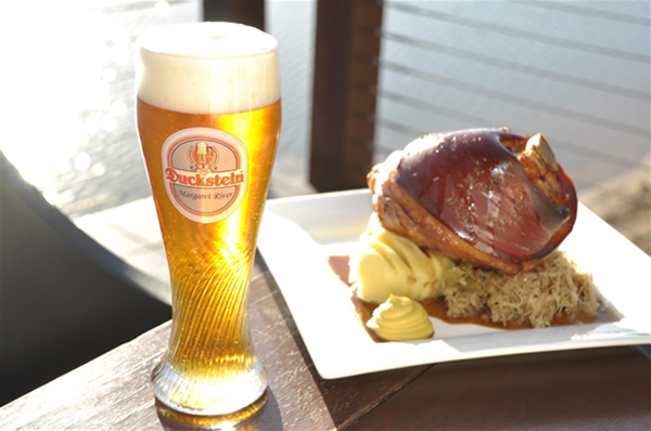 Beer & Eisbein at our Margaret River location