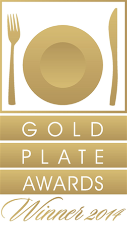 2014 Gold Plate Winner Best Tourism Restaurant in Perth