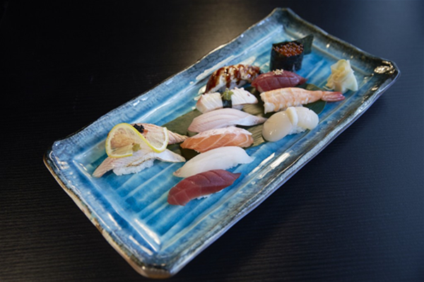 Special Sushi Plate.