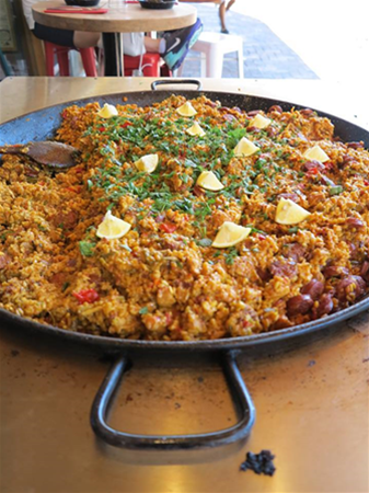 Paella - Every Wednesday from 12pm!