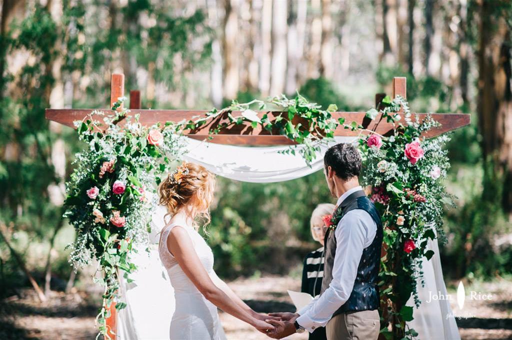 Wedding Ceremony Styling